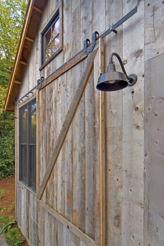 714 Sq. Ft. Cabin Built with Reclaimed Barn Wood Images © Dotter & Solfjeld Architecture & Design