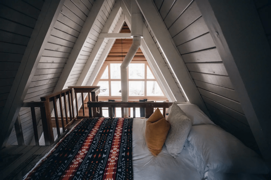 Tye Haus A-Frame Cabin Rental in Washington State