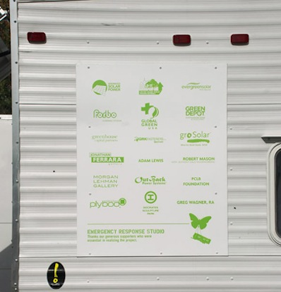 FEMA Trailer turned into Solar Powered RV Dubbed Emergency Response Studio
