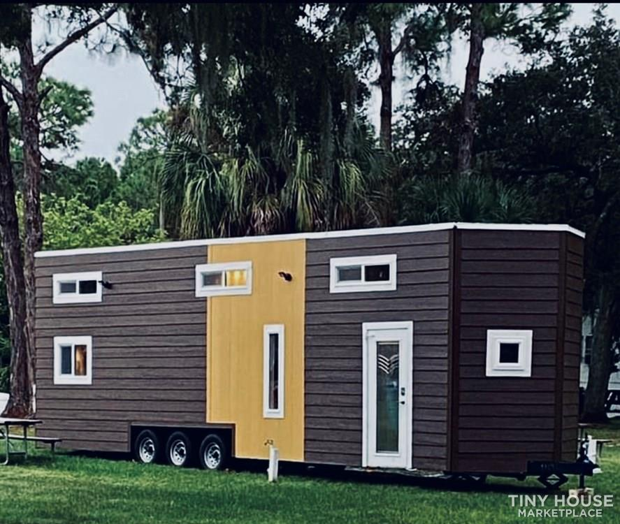 34′ Tiny House Mansion With Downstairs Bedroom & Two Lofts! 10