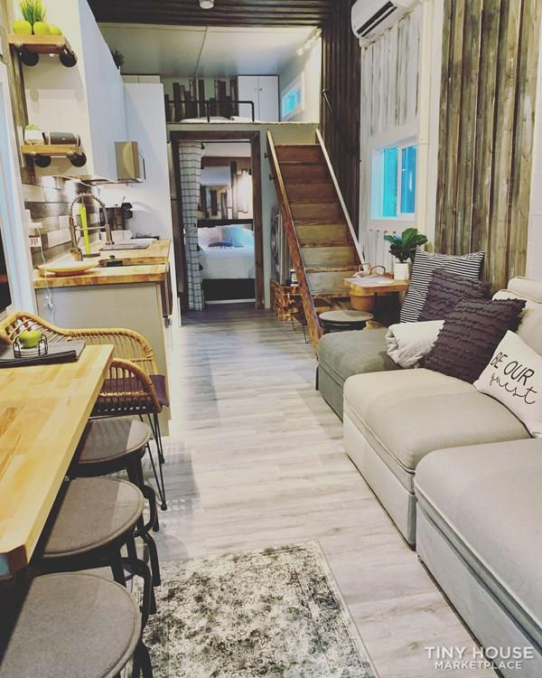 34′ Tiny House Mansion With Downstairs Bedroom & Two Lofts! 2