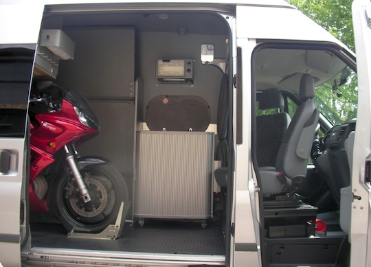Ford Transit Stealth Camper Tiny House Talk