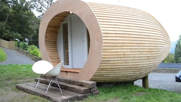 Glam Pod Tiny House in England