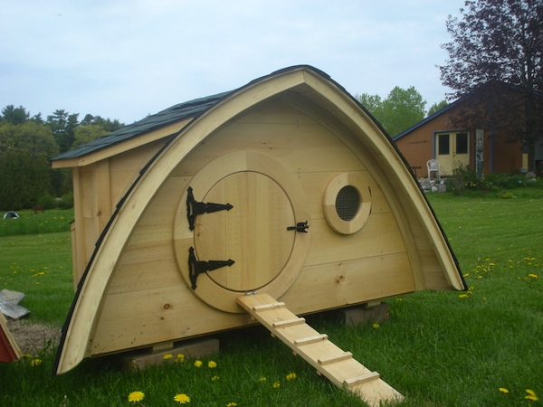 Hobbit Holes Chicken Coop
