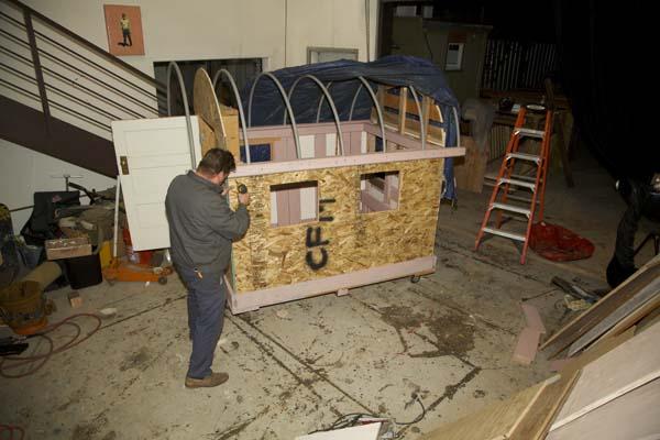 Homeless Shelter Micro House Build Built