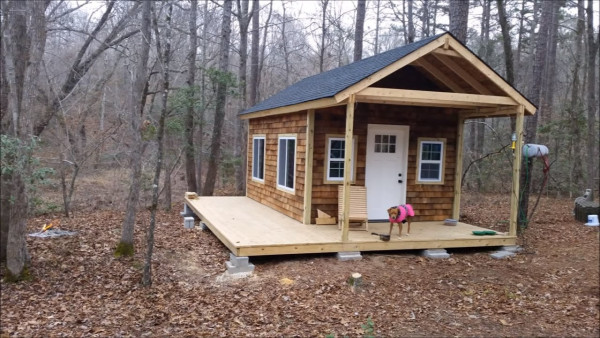 How to build your own tiny cabin for How much would it cost to build your own house