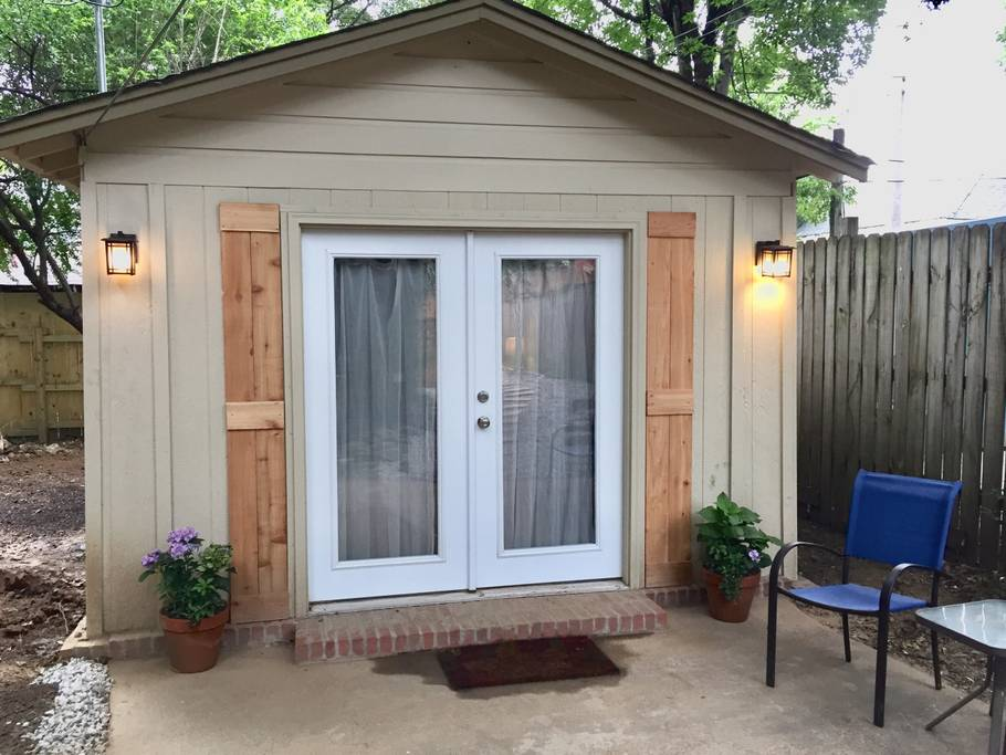 Garage Converted Into 320 Sq Ft Backyard Cottage
