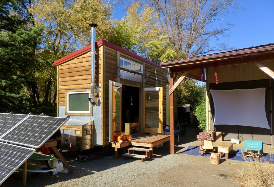 Tents, a Cabin, a Sailboat and Now An Off-Grid DIY THOW