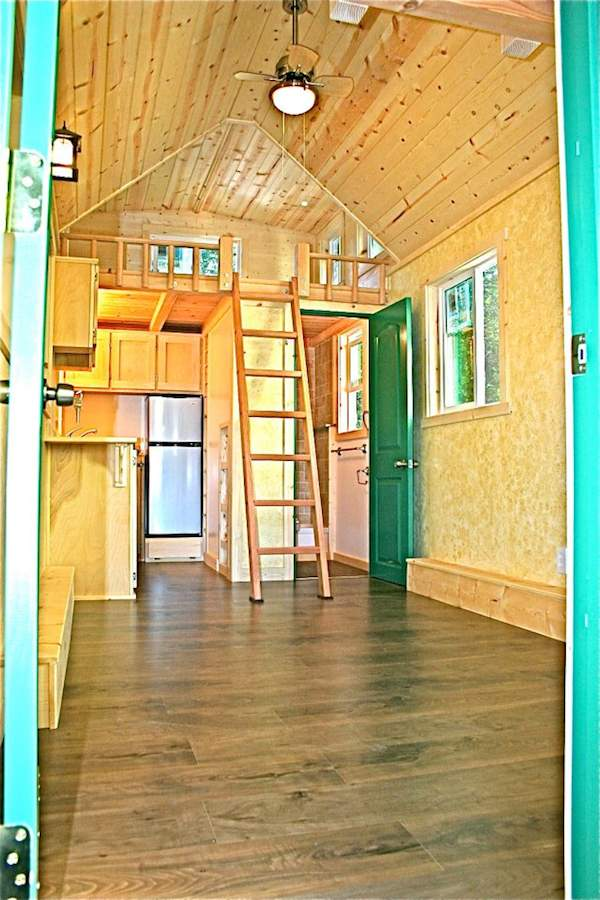Interior Shot of Molecule Tiny House