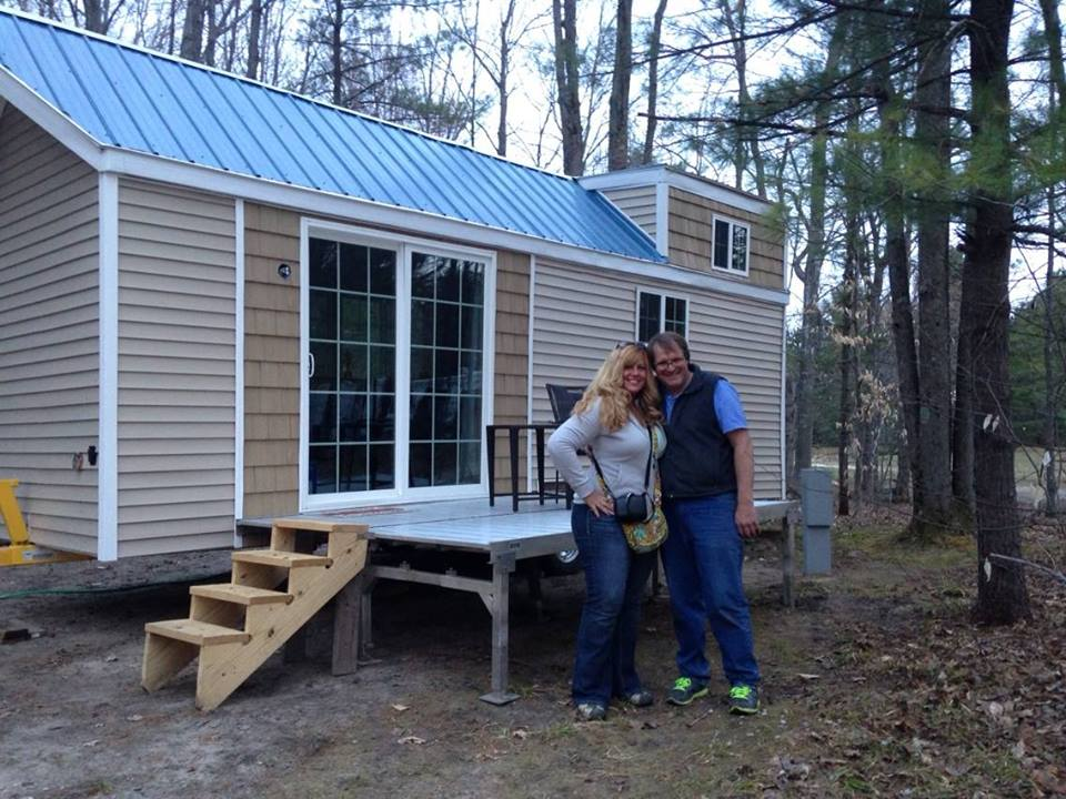 couple living simply in 200 sq  ft  tiny house built for  15k