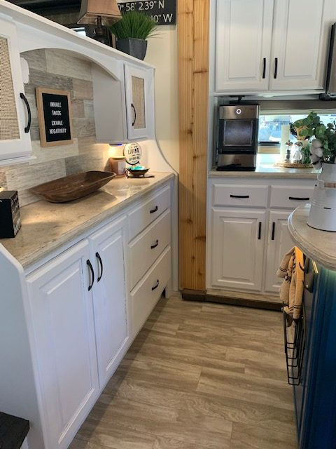 Former Military Couple's Renovated RV 19