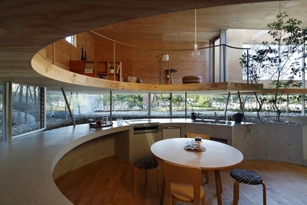 The Pit House: Modern Small House in Japan