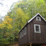 Laura LaVoie's Off Grid Tumbleweed Tiny Cabin