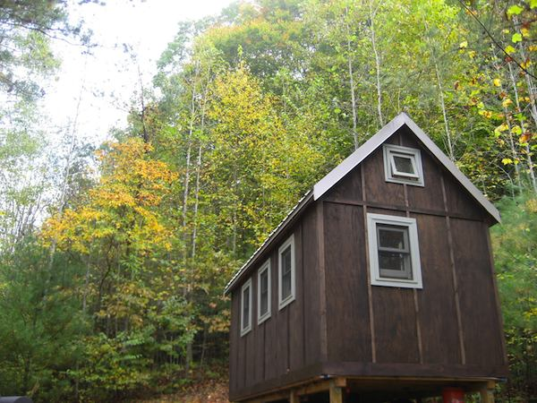 Tiny Home Designs: THT 002 Building & Living In An Off Grid Tiny Cabin W