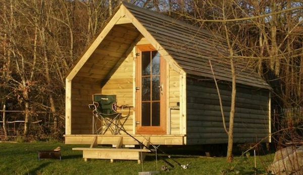 Log Pod Tiny Cabin