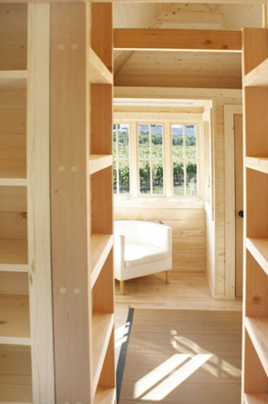 Fencl Tiny House Inside Pictures