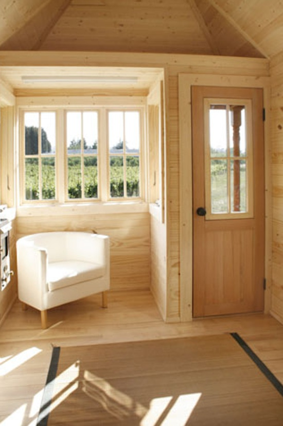 130 sf fencl tiny house and how to build your own - Interior home design for small houses ...