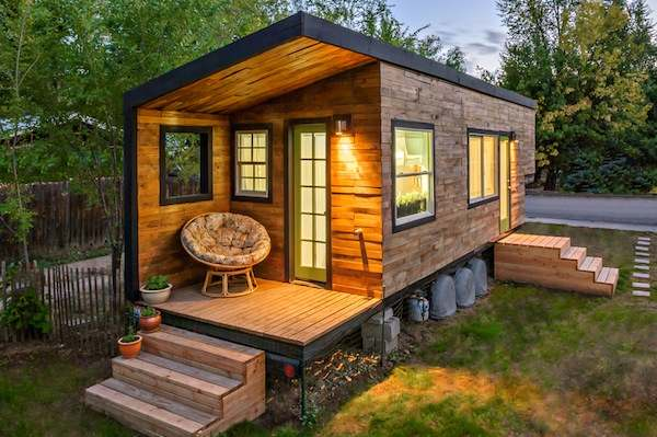 She Built Her 196 Sq. Ft. Tiny House for $11k