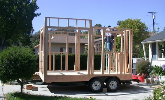 Building a Tiny House on a Trailer - Construction