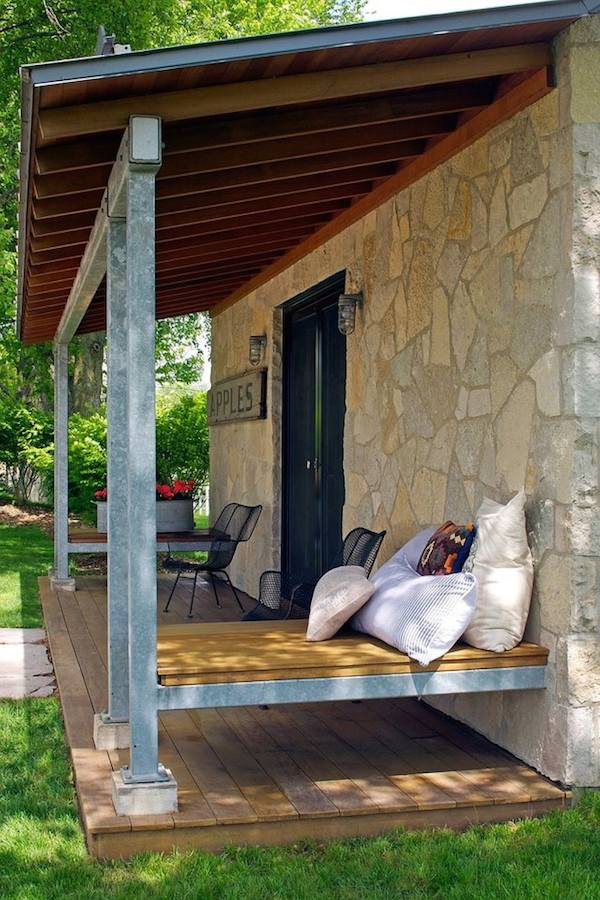 Modern and Rustic 350 Sq. Ft. Tiny Stone Cabin