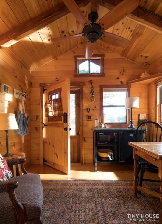 Off Grid Amish-Built Log Cabin For Sale (FREE 200 mile Delivery) 2