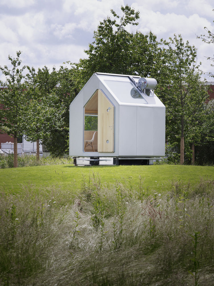 High Tech Self Sufficient Tiny Houses by Renzo Piano