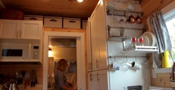 Couple Build and Live in Tiny House for Less than $20k