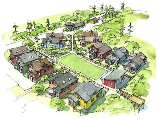 A Mini Tiny House Community You Can Build? Tiny Home Village Designs on tiny homes book, tiny village online, earthship villages, tiny homes of 2013, minecraft candy villages, tiny houses, grass minecraft villages, usa villages, tiny cabins at sacred mountain sanctuary, southern colonies homes and villages, tiny eco homes, tiny dwellings,