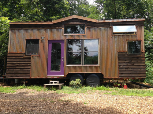 Woman's 246 Sq. Ft. $53k Tiny Home on Wheels