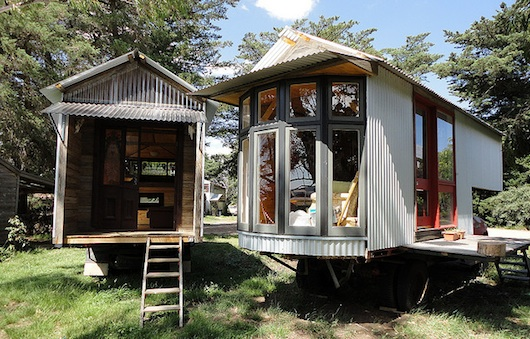 Rob Scott's Tiny Truck Houses - Or Should I say Studio Trucks ?