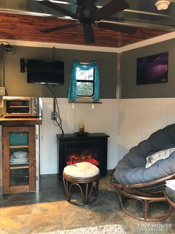 Toy Hauler Turned Tiny Home Conversion: $27.5K 34