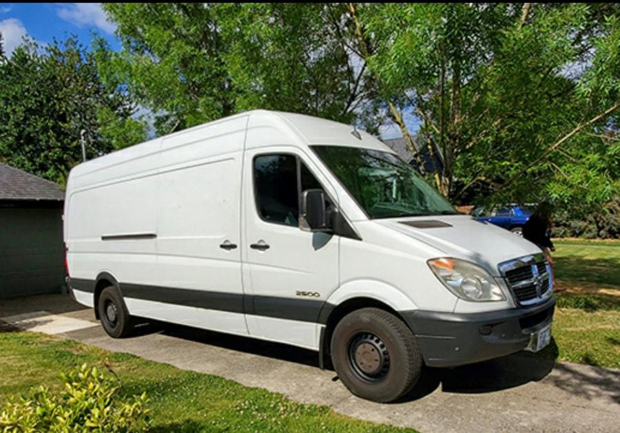 2008 Dodge Sprinter Van Conversion. Work & Play! - $31950 (NE Portland)