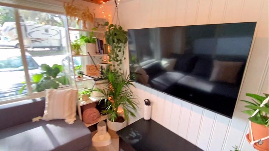 Her Plant-tastic Mini Mansion Tiny Home 8