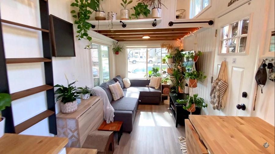 Her Plant-tastic Mini Mansion Tiny Home 3