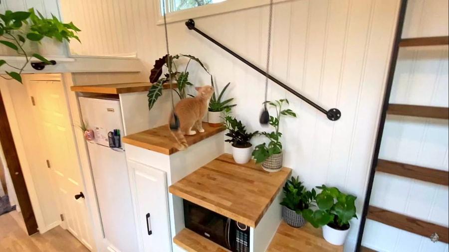 Her Plant-tastic Mini Mansion Tiny Home 2