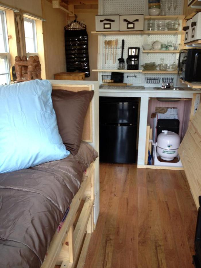 Building A Tiny House Interior By The Seat Of My Pants