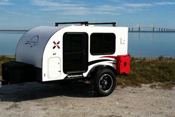 Rockledge 5 x 8 Teardrop Camping Trailer