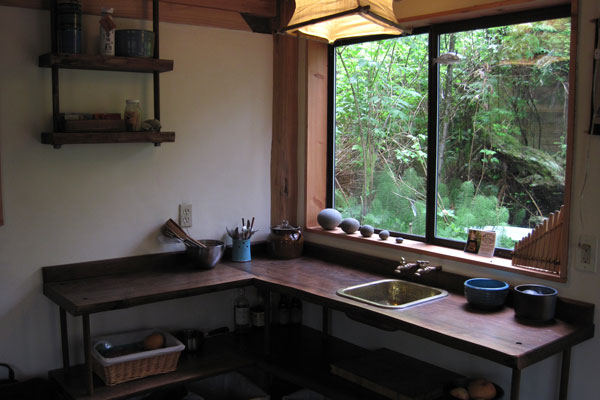 Man Designs/Builds Japanese-style Tiny Zen Cabin in the Woods on house design inside and outside, modern zen garden design, zen wall design, zen room design, buddhist home design, japanese kitchen design, bungalow house plans philippines design, zen home design, zen office design, house built inside mountain, houzz craftsman home exterior design, house to home interiors designs, beach house kitchen design,
