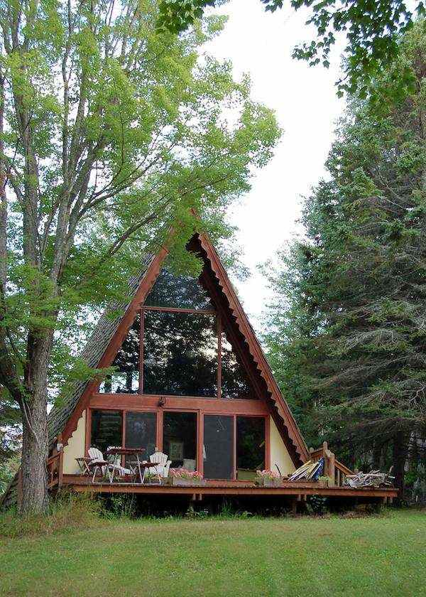Top 6 a frame tiny houses for Steel frame cabin