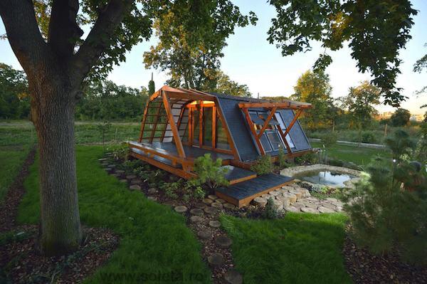 The Soleta Zero Energy One Tiny Home