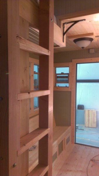 Stew MacInnes Second Tiny House for Workers in Oil Fields