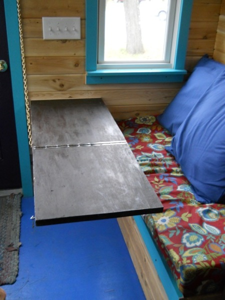 Jane's Solar Powered Tiny House with Composting Toilet, Food Storage and Bedroom (2)