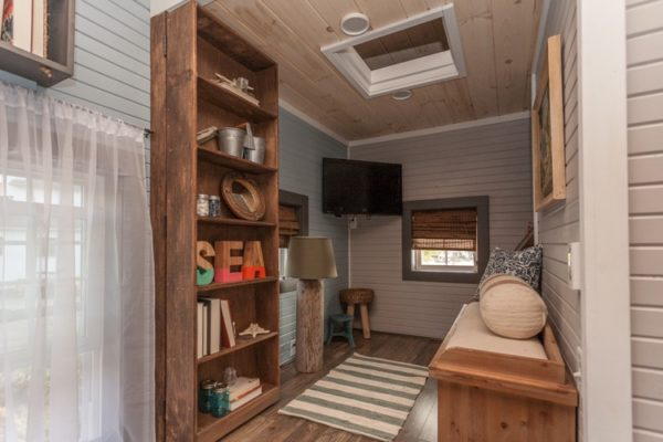 200 Sq. Ft. Cape Cod Inspired Tiny House on Wheels