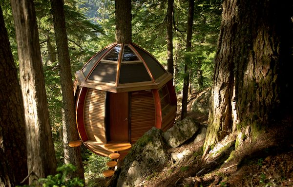The HemLoft Micro Cabin Treehouse
