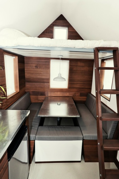 The Miterbox tiny house on wheels
