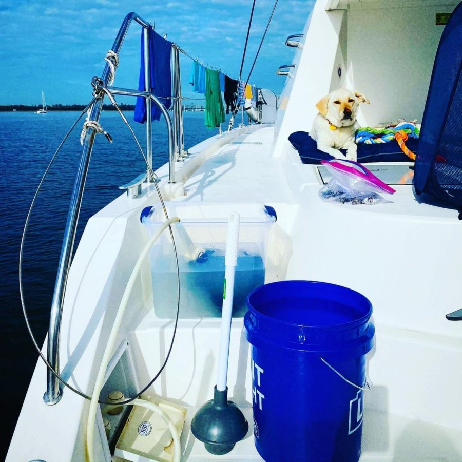 From 7,000 Sq. Ft. to 1200 Sq. Ft. to 48 Ft Catamaran: Family of 5! 11