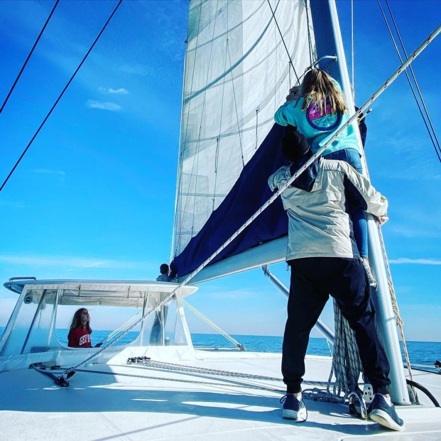 From 7,000 Sq. Ft. to 1200 Sq. Ft. to 48 Ft Catamaran: Family of 5! 3
