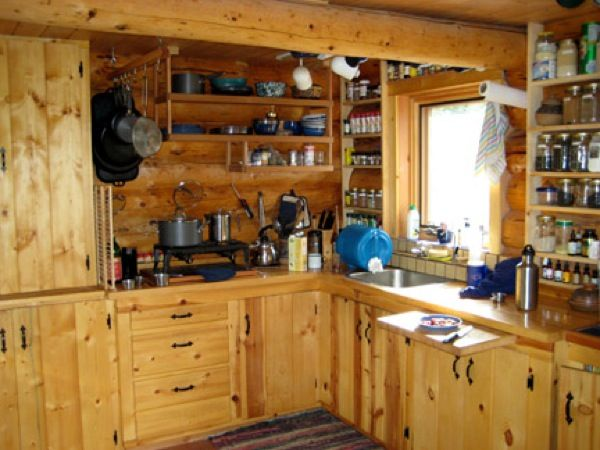 Kitchen with Lots of Open Storage
