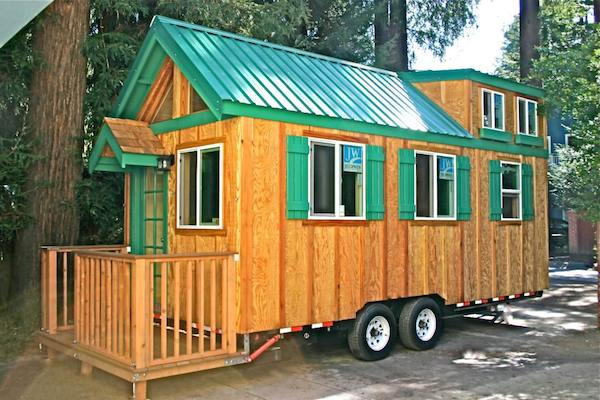 Tiny Home on Wheels with Retractable Porch