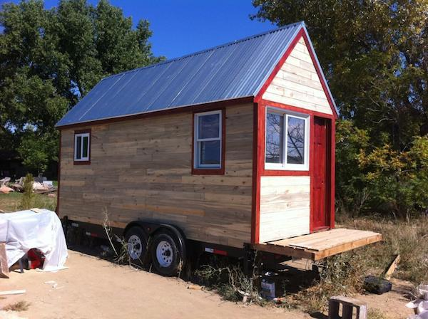 Tiny House Couple Featured on MSN